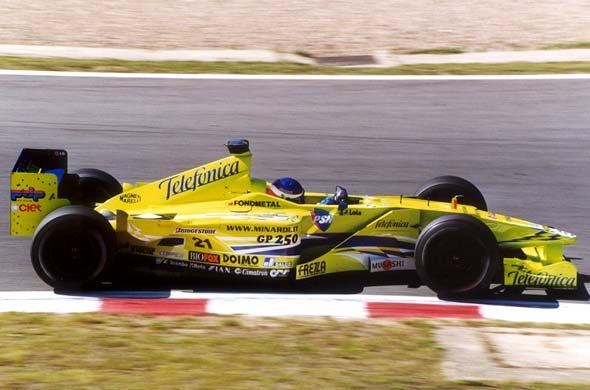 Minardi, equipe histórica de Formula 1 de 2000 - by bandeiraverde.com.br